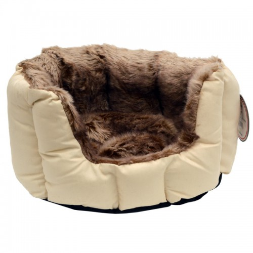 Jack and Vanilla Softy Blanket Basket Plush, beige