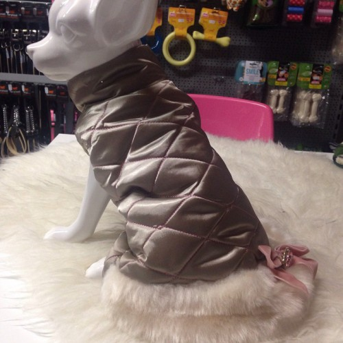 Pretty pet city chic coat (Beige)