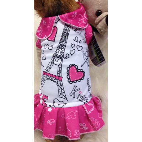 roze eifeltoren jurkje