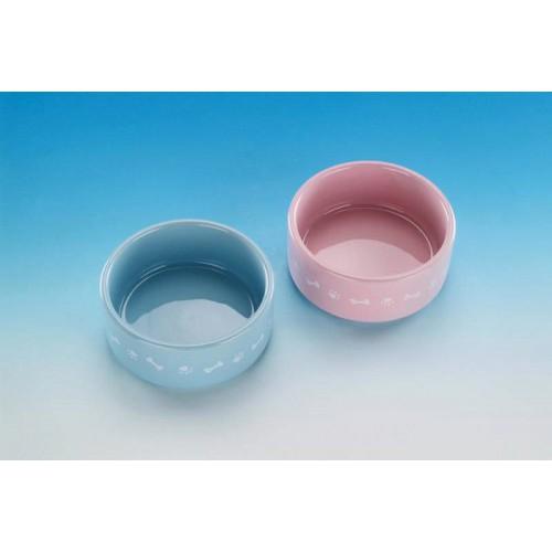 Nobby eetbak Puppy in blauw of roze (11 cm)