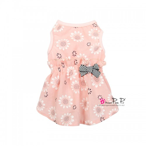 Pretty Pet Flower Dress (Pink)