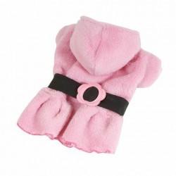 Roze fleece jasje