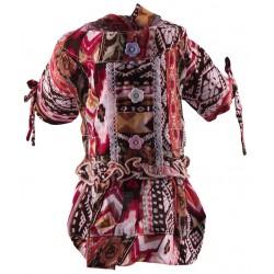 Graffic dress