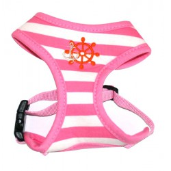 Roze gestreepte harnas