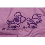 Woezel en pip jas roze