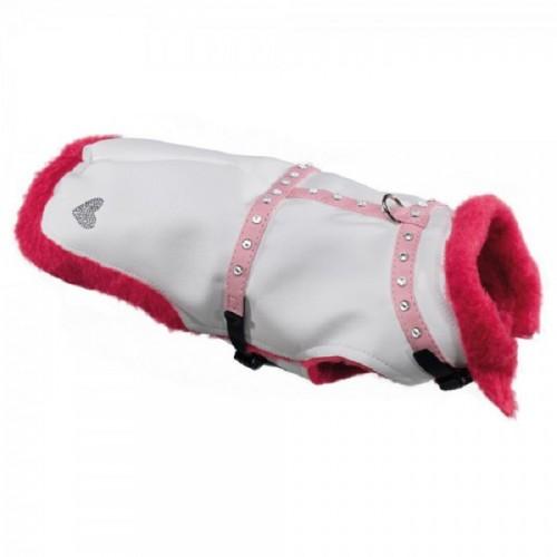 2 in 1 winterjas pink