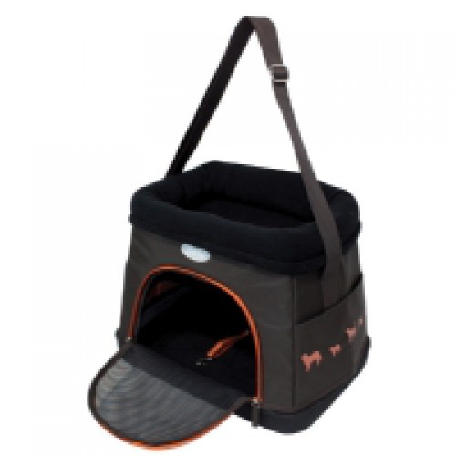 Dog carrier / reistas-bed  VALITA kleur bruin